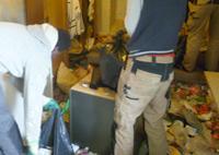 Nous débarrassons les appartements laissés à l'abandon, meubles, électroménager, lit, sommier